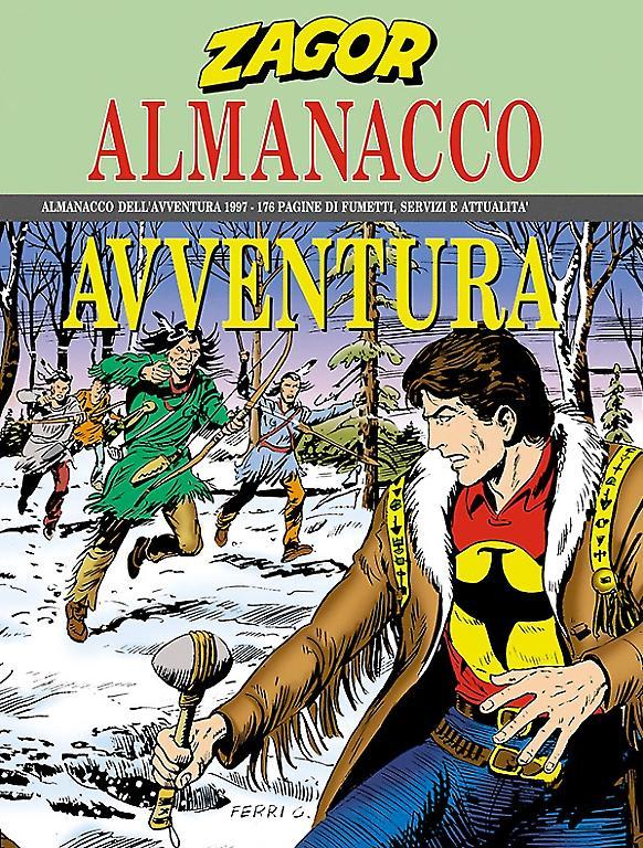 Almanacco dell'Avventura 1997 - Sergio Bonelli