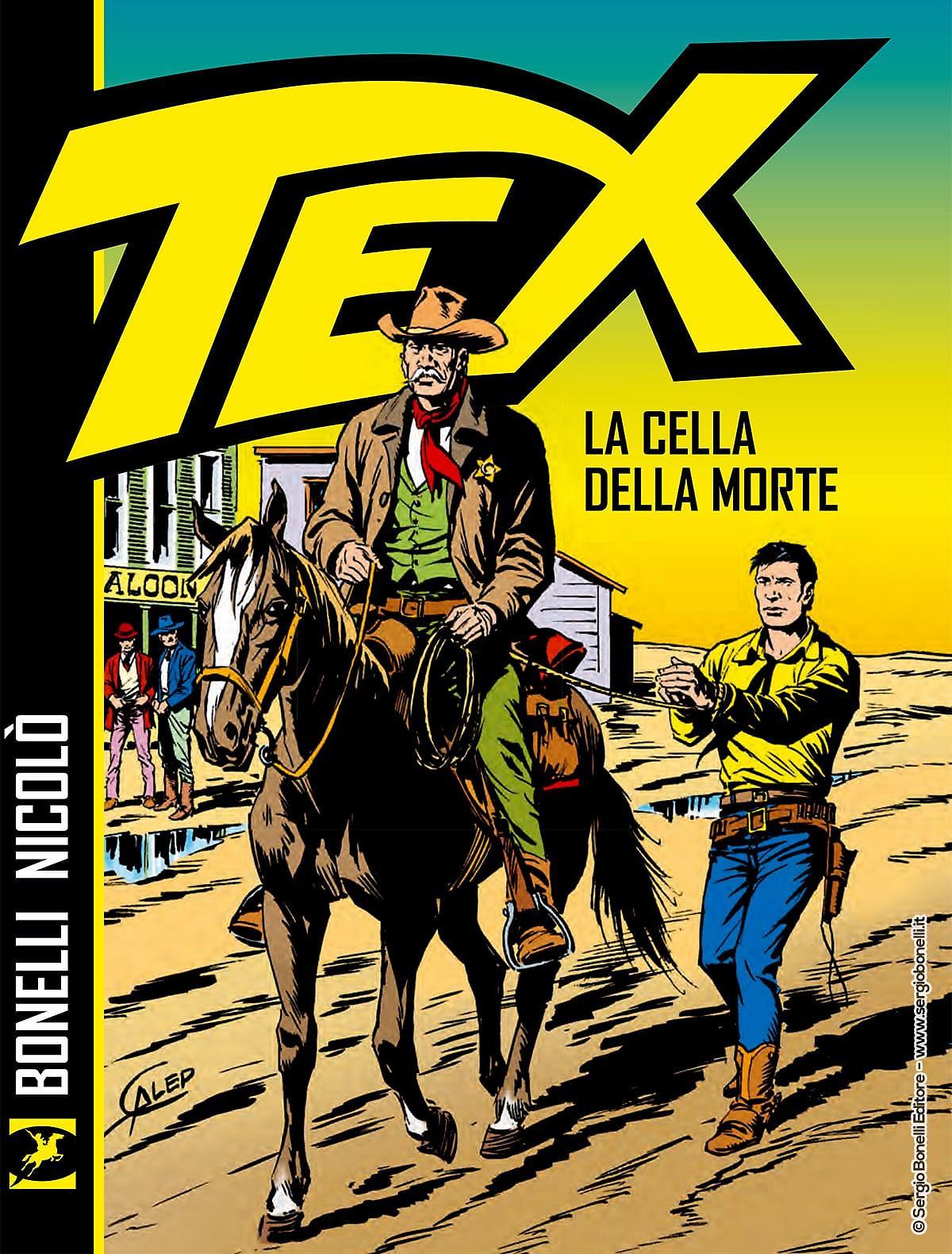 più amato buona vendita ottima vestibilità Tex. La cella della morte - Sergio Bonelli