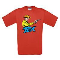 T-shirt Tex - Rossa