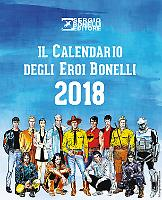 Il Calendario degli Eroi Bonelli 2018