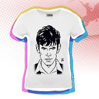 T-shirt Donna Dylan Dog - Bianca