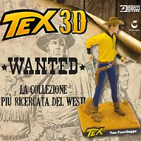 Tex fuorilegge. Statuina 3D