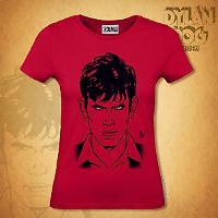 T-shirt Donna Dylan Dog - Rossa