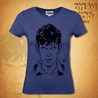 T-shirt Donna Dylan Dog - Blu