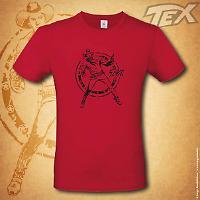 T-shirt Tex Ranger - Rossa