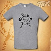 T-shirt Tex Ranger - Grigia