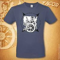 T-shirt Zagor Odissea americana - Denim