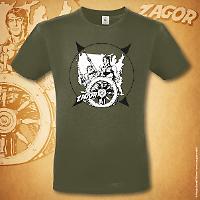 T-shirt Zagor Odissea americana - Urban Khaki