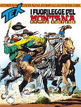 I fuorilegge del Montana - Tex Nuova Ristampa 408 cover
