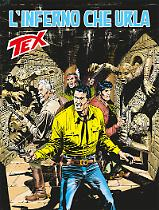 L'inferno che urla - Tex 675 cover