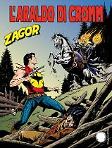 L'araldo di Cromm - Zagor 622 cover