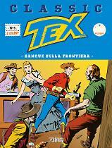 Sangue sulla Frontiera - Tex Classic 05 cover