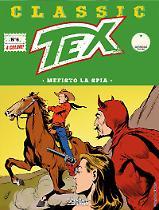 Mefisto la spia - Tex Classic 06 cover