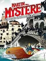 La pietra filosofale - Martin Mystère Le Nuove Avventure a Colori 11 cover