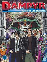 El dìa de los muertos - Dampyr 212 cover