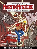 Le strane morti del signor Max - Martin Mystère bimestrale 355 cover
