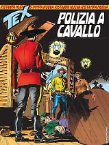 Polizia a cavallo - Tex Nuova Ristampa 432 cover