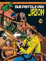 Due pistole per Jason - Tex Nuova Ristampa 433 cover