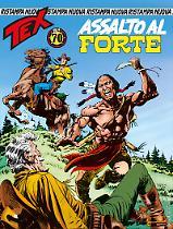 Assalto al forte - Tex Nuova Ristampa 434 cover