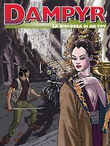 La riscossa di Ah-Toy - Dampyr 220 cover