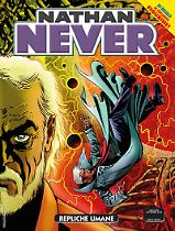 Repliche umane - Nathan Never 328 cover