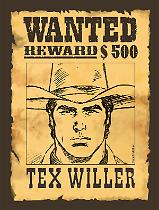 Tex Willer 1 - Variant taglia