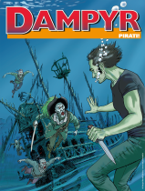 Pirati! - Dampyr 227 cover