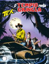 Il tempio nella giungla - Tex 702 cover