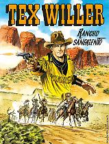 Rancho Sangriento - Tex Willer 07 cover