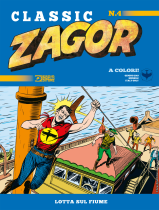Lotta sul fiume - Zagor Classic 04 cover