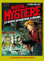 Il naufrago del tempo - Martin Mystère Le Nuove Avventure a Colori Seconda Serie 04 cover