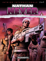 Tradimento - Nathan Never 344 cover