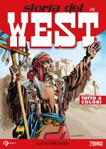 Gli scorridori - Storia del West 16 cover