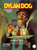 Groucho Secondo - Dylan Dog Color Fest 34 cover