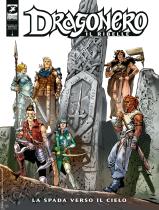 La spada verso il cielo - Dragonero Il ribelle 11 cover