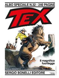 Il magnifico fuorilegge - Tex Speciale 32 cover