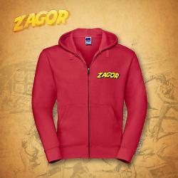 Felpa Zagor - Rossa