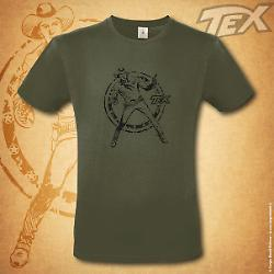 T-shirt Tex Ranger - Verde militare