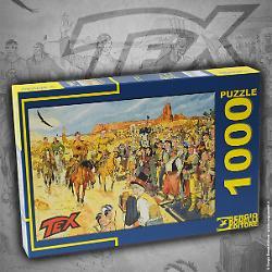 Il puzzle di Tex nel villaggio Navajo