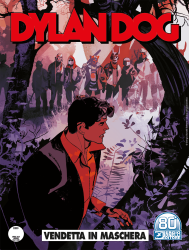 Vendetta in maschera - Dylan Dog 415 cover
