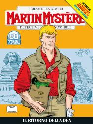 Il ritorno della dea - Martin Mystère 374 cover