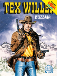 Blizzard! - Tex Willer 30 cover