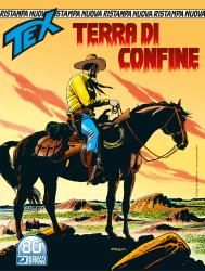 Terra di confine - Tex Nuova Ristampa 469 cover