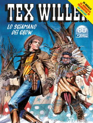 Lo sciamano dei Crow - Tex Willer 31 cover
