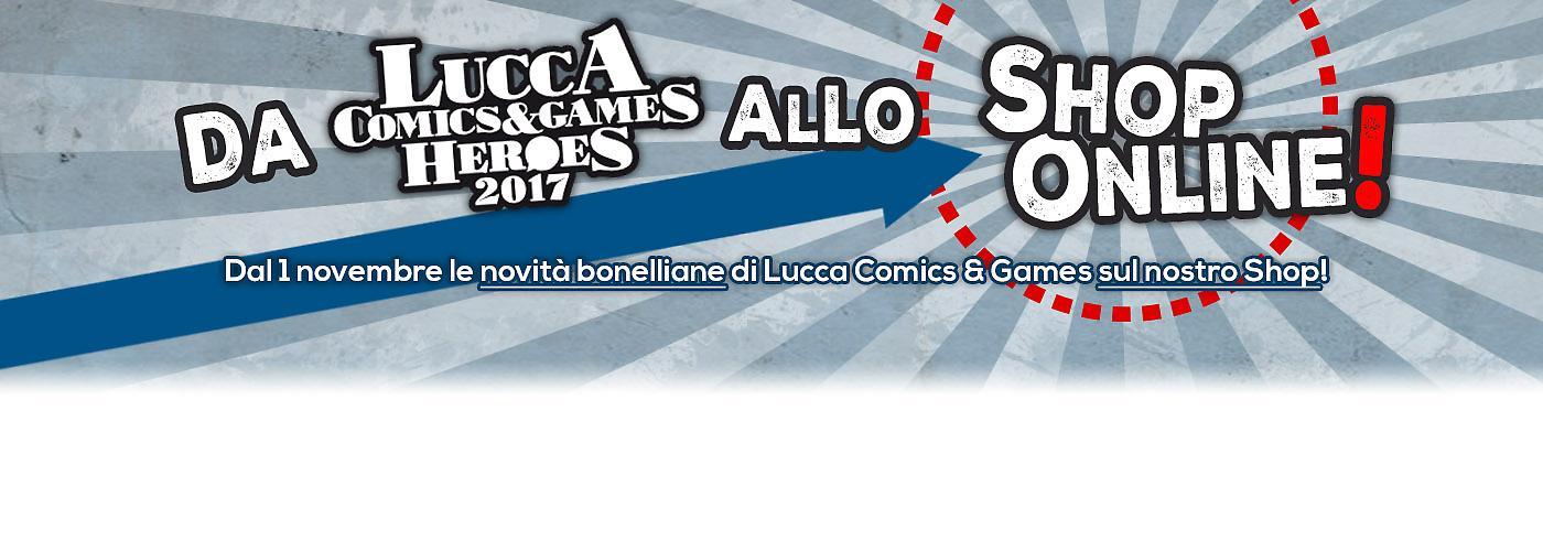 Da Lucca al nostro Shop online banner