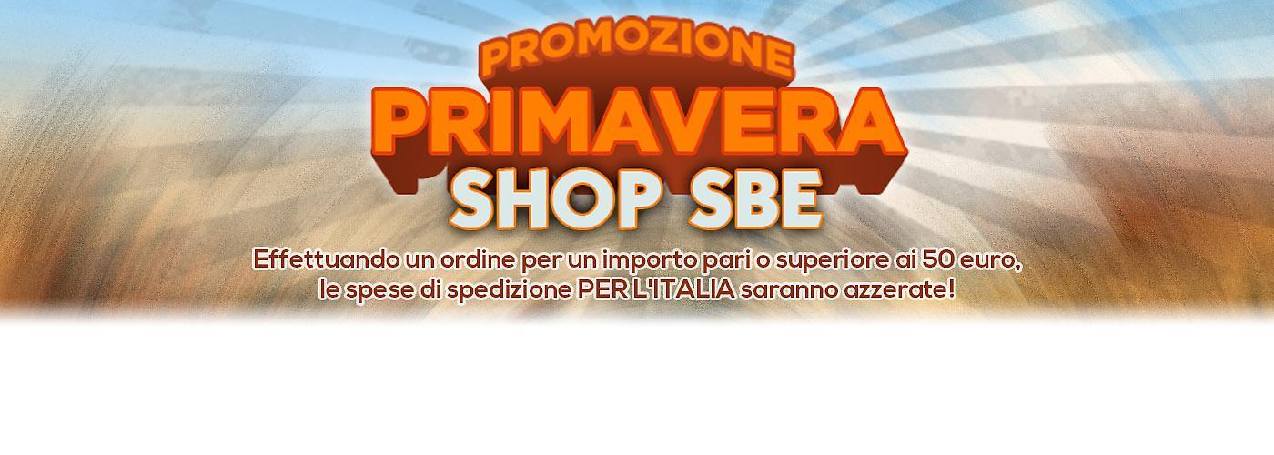 Promozione Primavera banner Ecommmerce