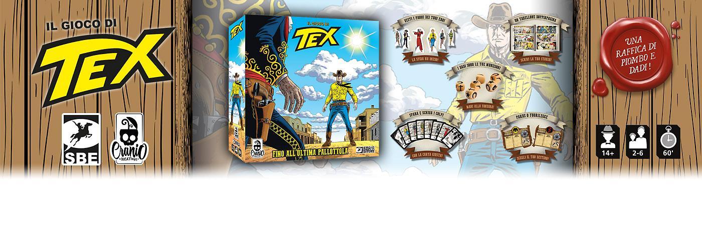 Il Gioco di Tex banner Ecommerce