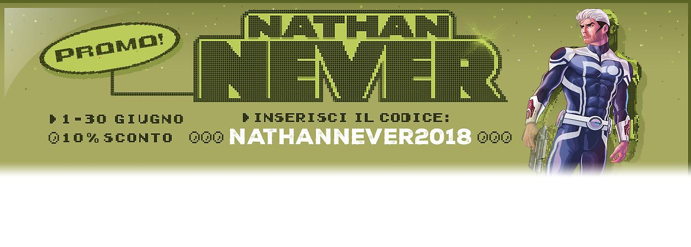 Promozione Nathan Never 2018 banner Ecommmerce