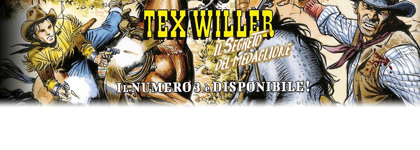 """Tex Willer 03 """"Il segreto del medaglione"""" ECOMMERCE"""