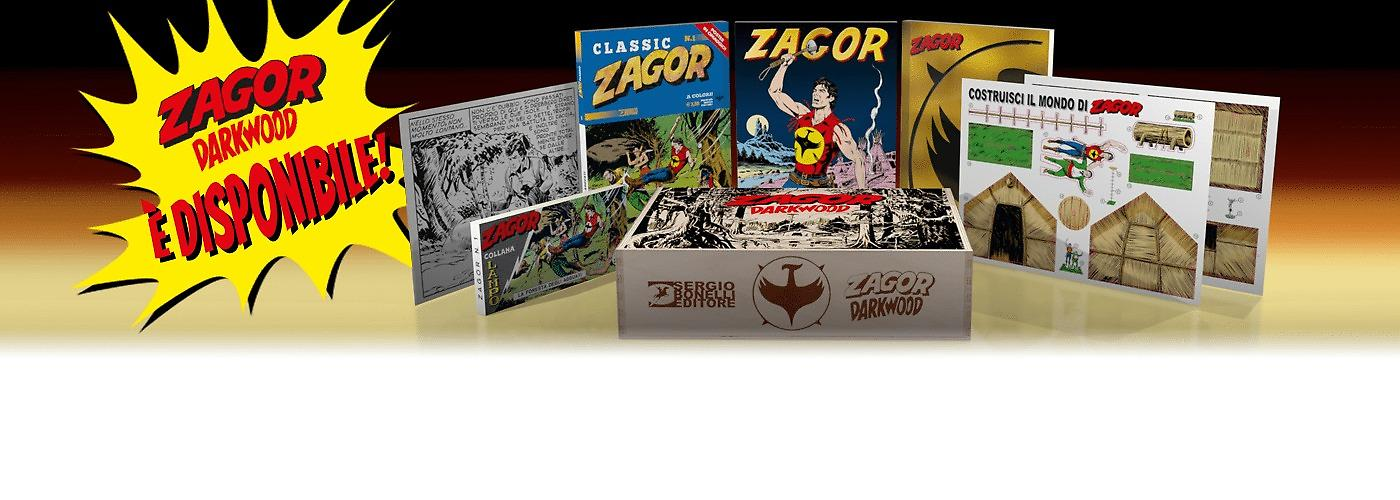 Zagor Darkwood Box Ecommerce